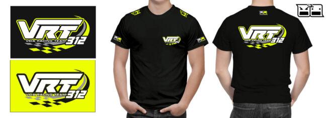 csapat póló és logó tervezés VRT vida szabolcs